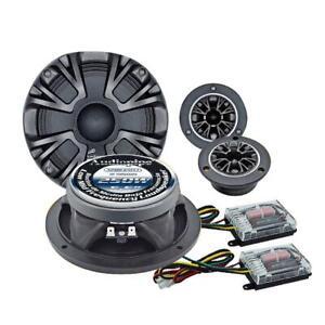 Audiopipe APMB65FLTCMP Loudspeaker/Tweeter Component Set 1000W Max