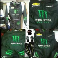 MONSTER-GO KART RACING SUIT CIK FIA LEVEL II APPROVED WITH SHOES & GLOVES