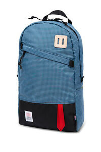 Topo Designs Daypack Backpack MADE IN USA! 22L Blue Ripstop NEW