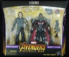WINTER SOLIDER & FALCON INFINITY WAR MARVEL LEGENDS TARGET EXCLUSIVE NEW FIGURE