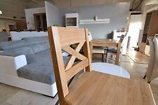 Kitchen, bar, hotel, bar stool - natural solid oak, strong, high quality