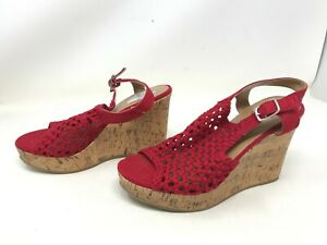 Womens SO (112764) Perch red Wedges shoes 403K