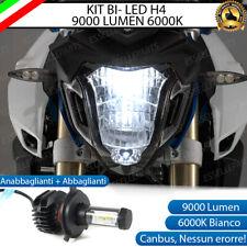 LAMPADA LED H4 6000K 9000 LUMEN CANBUS BMW F 800 R LUXEON ZES MOTO NO ERROR