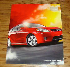 Original 2007 Toyota Matrix Sales Brochure 07