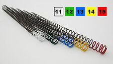 Colt Government 1911 Recoil Calibration Spring Pack - 11,12,13,14,15 (set of 5)