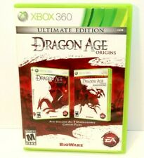 XBox 360 Dragon Age Origins Ultimate Edition Black Label Complete and Tested