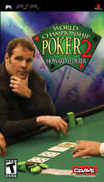 World Championship Poker 2 With Howard Lederer Sony For PSP UMD Game Only 5E