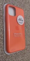 Genuine Official Apple iPhone 11 PRO Silicone Case Orange Brand New & Sealed