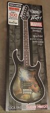 MARVEL IRON MAN HASTINGS EXCLUSIVE PEAVEY ROCKMASTER GUITAR LIMITED TO 300 MADE