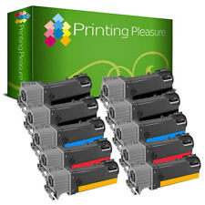 10 Toner Cartridges Replace For Xerox Phaser 6125 6125N 6125BK 6125C 6125M 6125Y