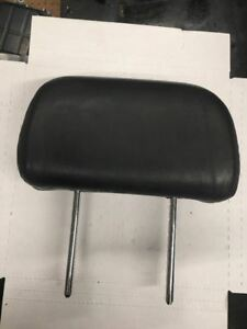 2003 2004 Hyundai Tiburon BASE / GT FRONT DRIVER LEFT LH HEADREST LEATHER BLACK