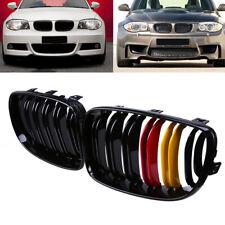 Pair Front Kidney Grille for BMW 1-Series E87 E81 E82 E88 08-2013 125i 128i 135i