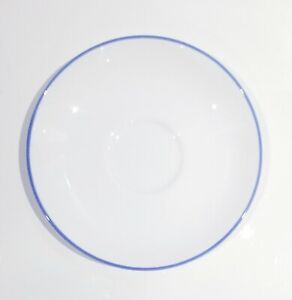 """TIFFANY & CO """"CLASSIC BLUE"""" COLLECTION BONE CHINA CERAMIC PORCELAIN SAUCER PLATE"""