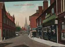 Lichfield. Conduit Street, 1907 - Mrs Halland, Brunswick Street Sheffield Ri.930
