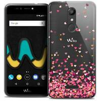 "Coque Gel Pour Wiko U Pulse LITE (5.2"") Extra Fine Souple Sweetie Heart Flakes"