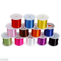 10M Elastic Stretch String Thread Cord For Bracelet Jewelry Bead Finding 0.5mm
