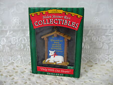 """Lamb 1998 """"Only With Our Hearts"""" Helen Steiner Rice Collectible Ornament w/Box"""