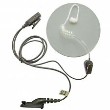 Motorola digital Mototrbo DP3400 & DP3600 UHF  covert earpiece with carry pouch