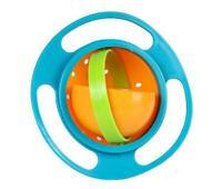 Baby Feeding Bowl Magic 360 degree Rotating Gyro Toddler Infants Non No Spill