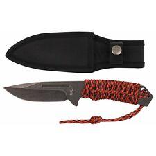 """MFH FoX Outdoor Messer """"Redrope"""" Groß Stonewashed Taschenmesser 23cm"""