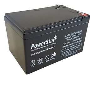 12V 12AH NB T2 SLA Battery for Schumacher Mity-Mite Jump Starter, XP750