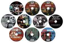 ***MASSIVE***  JFK Documentary Collection - Conspiracy Theory / Truth (10 x DVD)