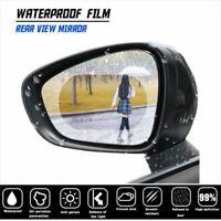2Pcs Car Anti Fog Nano Coating Rainproof Rear View Mirror Waterproof Film New