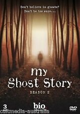 MY GHOST STORY COMPLETE SEASON 2 HISTORY CHANNEL COLLECTION BOXSET NEW 3 DVD R4