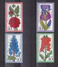 Berlin 1976 postfrisch MiNr.  524-527  Wohlfahrtsmarken Gartenblumen