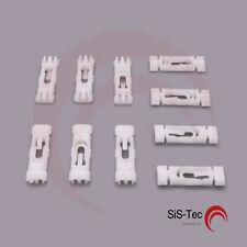 /_ nuevo 6n1 5 x motorhaubendämmmatte clip de fijación 867863849a01c para VW Polo