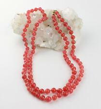 Gorgeous Rhodochrosite Chain AAA Quality Rare Pink Rhodochrosite 33 1/8in