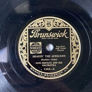 DON REDMAN & HIS ORCH - 'CHANT OF THE WEEDS/ SHAKIN' THE AFRICANN' BRUNSWICK 78!