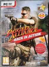 JAGGED ALLIANCE BACK IN ACTION PC DVD-ROM SHOOTER GAME UK brand new & sealed!