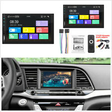 "7""Car 2Din Audio Stereo MP5 Player+12LED Camera For iPhone Android Car Auto Play"