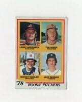 1978 Topps Jack Morris #703 Rookie Baseball Card -        Detroit Tigers HOF
