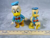 1950's Marx Donald Duck Whirl-A-Way Wind Up Walt Disney Squeak TOY BUNDLE LOT