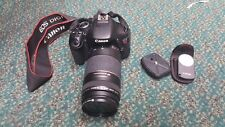 Canon EOS Rebel T3i 600D 18mp SLR Camera w/75-300mm Zoom Lens & Accessories
