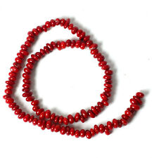 String of Small Coral  Beads for Jewellery Making (T41S)