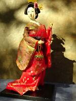 "Vintage ""ART Of ART OF THE KIMONO"" KYUGETSU  DOLL JAPANESE GEISHA 12"" Tall"