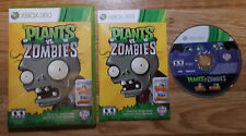Plants VS Zombies - Xbox 360 - Complete - Tested