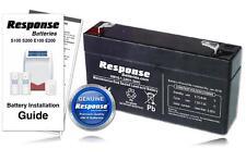 Response Alarm Eclipse Solar Siren HW10 WP1 6v 1.2Ah Battery Genuine Battery KIT