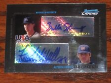 2010 Bowman Chrome Lance McCullers,Bubba Starling Rookie Refractor AUTO #'d 500!