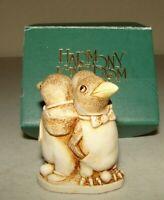 "Harmony Kingdom Vintage Treasure Box ""Unexpected Arrival Penguin"""