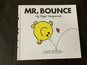 MR BOUNCE Mr Men Series Roger Hargreaves book no. 22