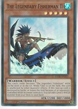 YU-GI-OH CARD: THE LEGENDARY FISHERMAN II - SUPER RARE - LEDU-EN015 1ST EDITION