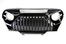 Gladiator Vader Mesh Gloss Black Front Hood Grill Fits Jeep Wrangler TJ 97-06