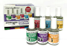 Cuccio Pro Powder Polish Dip System - Complete Treatment Kit Step1-7