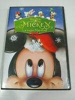 Mickey La Mejor Navidad Walt Disney - DVD Español Ingles Region 2 - AM