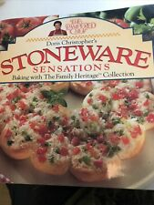 Pampered Chef Cookbook Stoneware Sensations Baking Family Heritage Collection