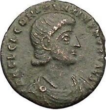 CONSTANTIUS GALLUS 351AD Roman Caesar RARE Ancient Coin BATTLE Horse man i39477